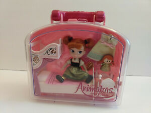 Disney Animators' Collection Frozen Anna Mini Doll Playset - New with Tags