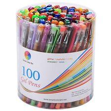 Smart Color Art - 94 Pcs Gel Pen Set | Colors Included: Classic Glitter, Neon