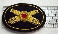 Civil War reenactors Hat Badge Small Artillery type #2