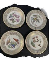 Lenox Boehm Ltd Edition Birds Collector Plates 4 plates