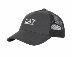 Emporio Armani 245020 Homme EA7 Tennis Pro Casquette Baseball Gris Golf Chapeau