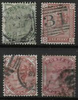 SG164-8.  1/2d.To 2d. Good/Fine Used. One Of Each Value. Cat.£176.  Ref:0440
