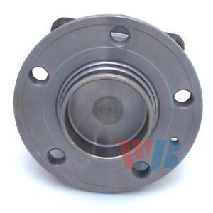 Wheel Bearing and Hub Assembly-FWD Rear WJB WA512233