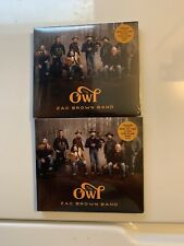 "ZAC BROWN BAND: The Owl (CD) ""SEALED"" Set If Two Lot.  You Get Two Copies."