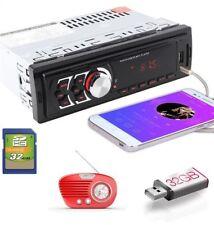 AUTORADIO FM STEREO AUTO LETTORE MP3 USB SD CARD INGRESSO AUX RADIO STEREO