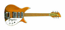 John Lennon's 1958 Rickenbacker 325 - natural finish, Greeting Card, DL size