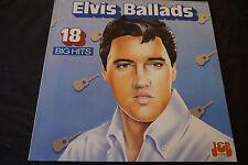 "Elvis Presley – Elvis Ballads 1986 Australia NM 12"" LP J & B Records – JB249"