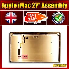 """NEW LCD DISPLAY PANEL + GLASS COVER - Apple iMac 27"""" A1419 Late 2012 Late 2013"""