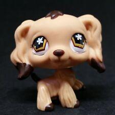 Littlest Pet Shop LPS #575 Tan Cocker Spaniel Puppy Dog / Chien Epagneul
