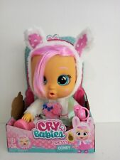 More details for cry babies interactive dressy coney baby doll with outfit and accessories