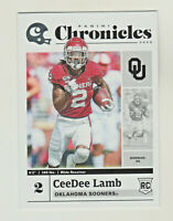 2020 Panini Chronicles Draft BASE CeeDee LAMB RC Rookie Sooners Dallas Cowboys