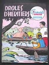 SAMEDI JEUNESSE N°59 Septembre 62 Droles D'heritiers
