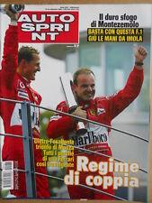 AUTOSPRINT n°37 2004 Gp Monza Michael Schumacher Rubens Barrichello   [P68]