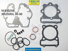 Honda XR250 1996-04 moteur douilles 58pc acier inoxydable allen bolt socket screw kit