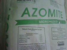 14 POUNDS AZOMITE FINE POWDER ORGANIC ROCK DUST MINERAL NATURAL TRACE ELEMENTS