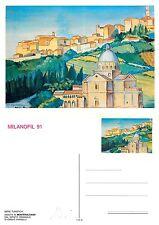 Milanofil 91 - veduta di Montepulciano (E-L 038)