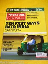 INVESTORS CHRONICLE - INDIA - JUNE 13 2008