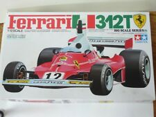 TAMIYA Ferrari 312T MODEL KIT 1/12 IDENTICAL SCALE BIG SCALE SUPER DETAIL RARE