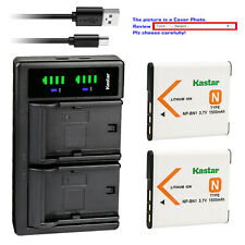Kastar Battery LTD2 Charger for Sony NP-BN1 BC-CSN & Sony Cyber-shot DSC-W690
