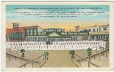 Hackney's Sea Food Restaurant Staff Atlantic City New Jersey Postcard