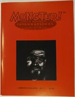 MONSTER INTERNATIONAL Magazine #3 [Coffin Joe; Jose Mojica Marins]