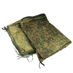 Set of 2 USMC Zippered Poncho Liner Woobie Blanket MARPAT Camo Camping DEFECT