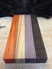 4-Turkey Pot call Striker Turning Blanks Premium  Padauk-Wenge-Purple Heart- etc