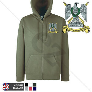 Royal Scots Dragoon Guards - Hoodie Zipped + Personalisation