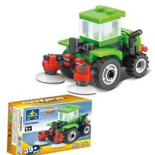 Block Gift Car DIY Mixing Soil Toy Mini Building Block #89002 Bricks Block