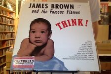 James Brown and the Famous Flames Think! LP sealed 180g vinyl + mp3 download RE