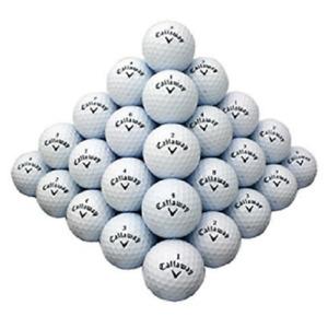 120 - 10 Dozen Callaway Assorted Mint AAAAA Quality Recycled Used Golf Balls