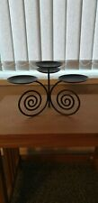partylite viking scroll candle holder