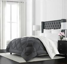 Oversized Soft Bedding and Fluffy Goose Down Feather Comforter Full Queen 89x89