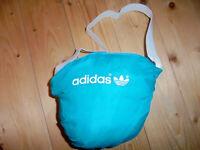 vintage Adidas 80s Nylon Regenjacke glanz shiny oldschool Jacke 80er Jahre L