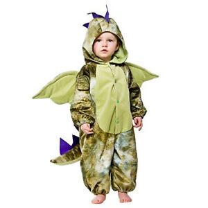 Boys Girls Dinosaur Costume for Animals Fancy Dress Kids Childs 12-18 Months