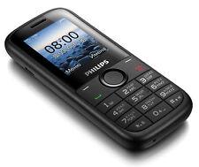 New Original Unlocked Philips E120 Dual Sim Cell Phone