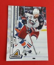 2011/12 Pinnacle Hockey Rick Nash Card #140***Columbus Blue Jackets***