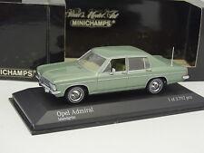 Minichamps 1/43 - Opel Admiral Verde