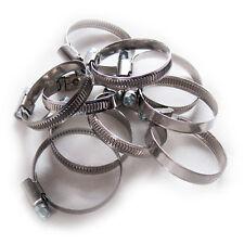 Schlauchschellen 32-50 mm 10 Stück Set W2 Edelstahl Stahl 9mm breit Bandschellen