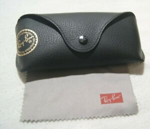 Ray Ban Sunglasses Case Only - Black, Felt-lined