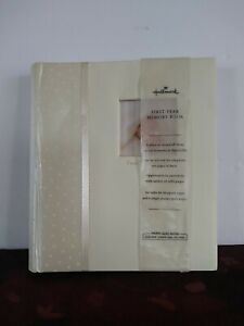 Hallmark First Year Memory Book Baby