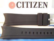 Citizen Watch Band BJ2115 -07E, back# B740-5064023 Blk Resin Eco-Drive Aqualand
