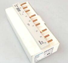 10x SIEMENS Sammelschiene 5ST3644 Anschluss: 3x 3-phasig berührungssicher