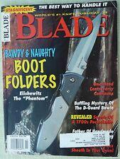 Rivista/magazine coltelli/lame ''Blade'' (NOVEMBER 1996)