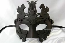 Copper Silver Black Masquerade Mask Men Roman Gladiator Thor  Costume Prom Party