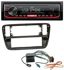 JVC 1DIN AUX USB MP3 Autoradio für VW Up (AA, AAN, 2011-2016)