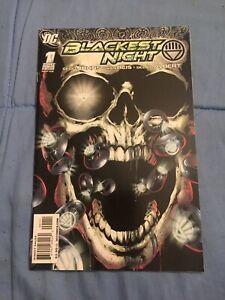Blackest Night #1 1st Print High Grade [DC Comics, 2009]