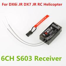 S603 2.4GHz 6CH DSM-X DSM2 Spread Receiver For JR Spektrum Dx5e Dx6i Dx7s Dx8