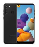 New Open Box Samsung Galaxy A21 SM-A215U - 32GB - Black (Unlocked) (Single SIM)
