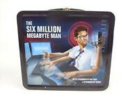 Sophos IT Security The Six Million Megabyte Man Metal Lunchbox - RARE